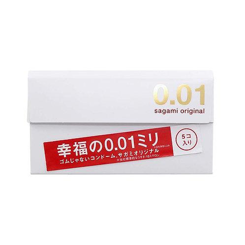 SAGAMI ORIGINAL 0.01 (5片裝)
