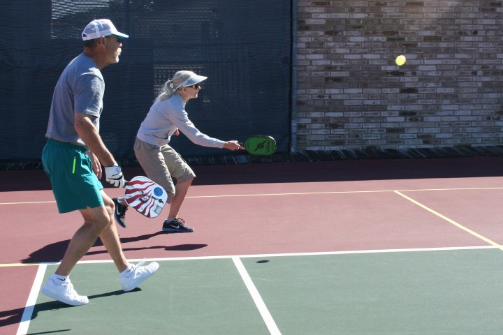Pickleball friendly game