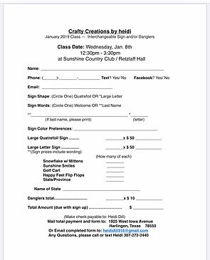 Crafty Creations_Registration Form for 2