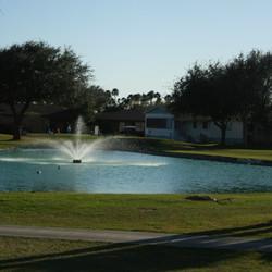 Well kept golf course
