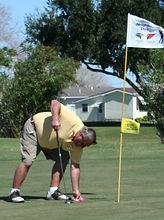 Golf successful hole in one