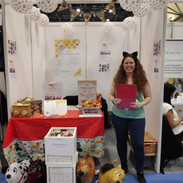Gabriella is ready for the visitors at MBS 2019