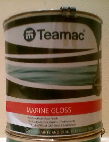 1LT  Teamac Marine Gloss  (ALL COLOURS)