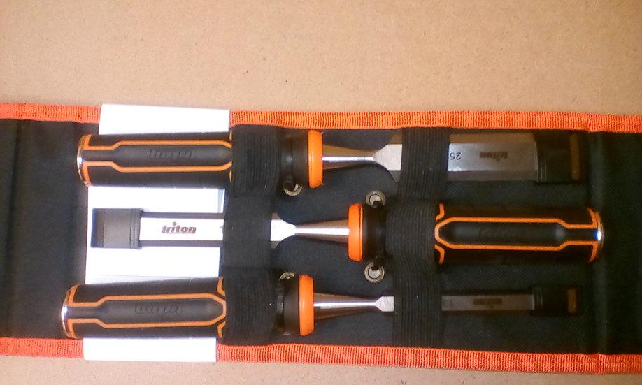 TRITON chisel 3 pack  9mm 13mm 25mm