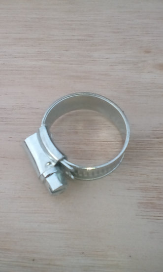 Galvanised hose clips