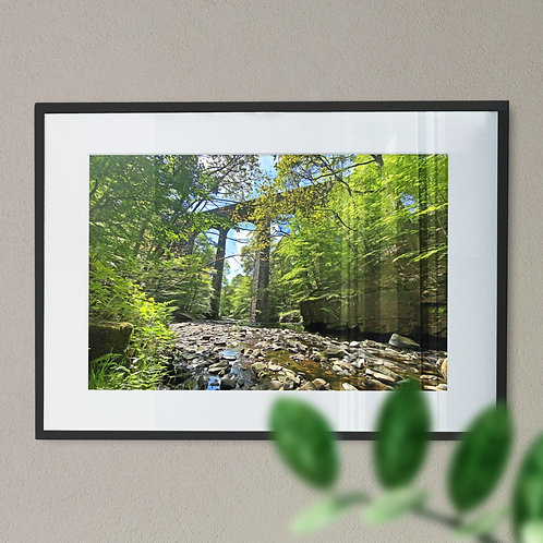 Healey Dell Rochdale Wall Art Print - Digital Effect