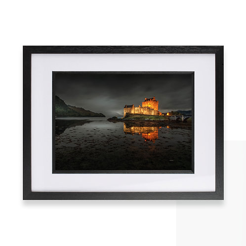 Kilchurn Castle, Lochawe, Dalmally at Night Photographic Print, Wall Art