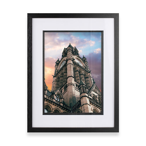 Manchester Town Hall Photographic Print, Fine Wall Art Photography