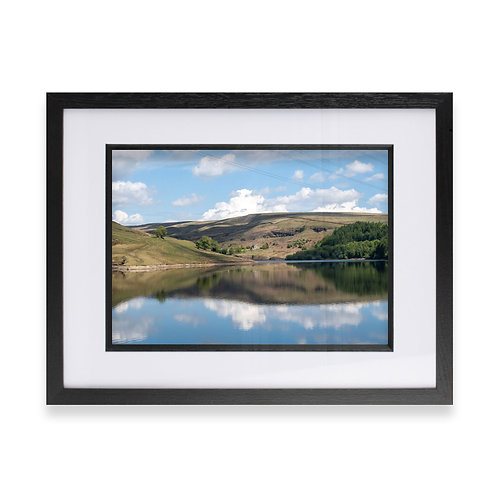 Greenbooth Reservoir, Rochdale Photographic Print, Fine Wall Art Photography