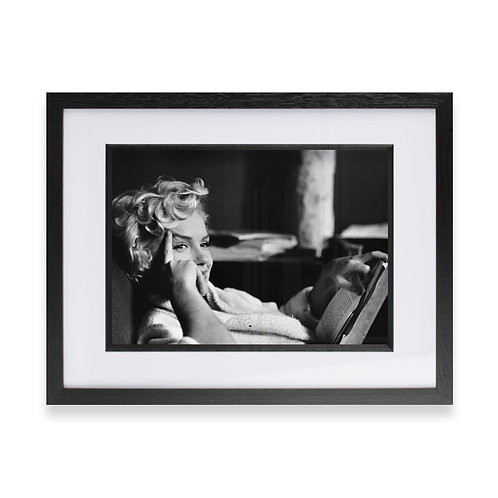 Marilyn Monroe Poster, Black and White Photograph, Fine Wall Art Photography
