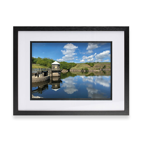 Greenbooth Reservoir, Rochdale Photographic Print