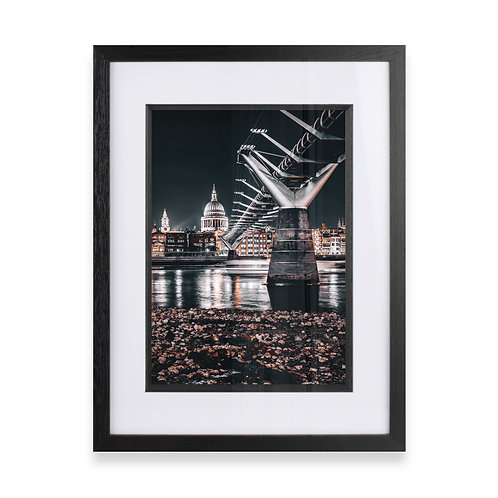 Millennium Bridge and St Paul's Photographic Print, Fine Wall Art Photography
