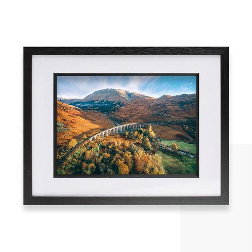Glenfinnan Viaduct, Scotland, Harry Potter Photographic Print, Fine Wall Art
