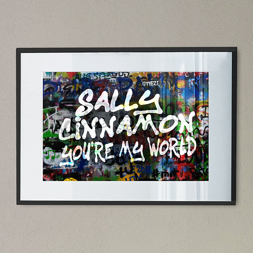 Sally Cinnamon Digital Wall Art