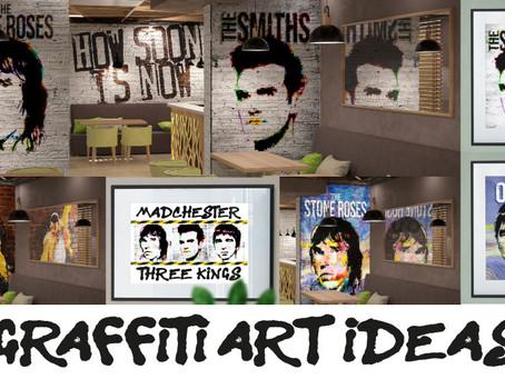 Graffiti Art Ideas - #WakeUpYourWalls