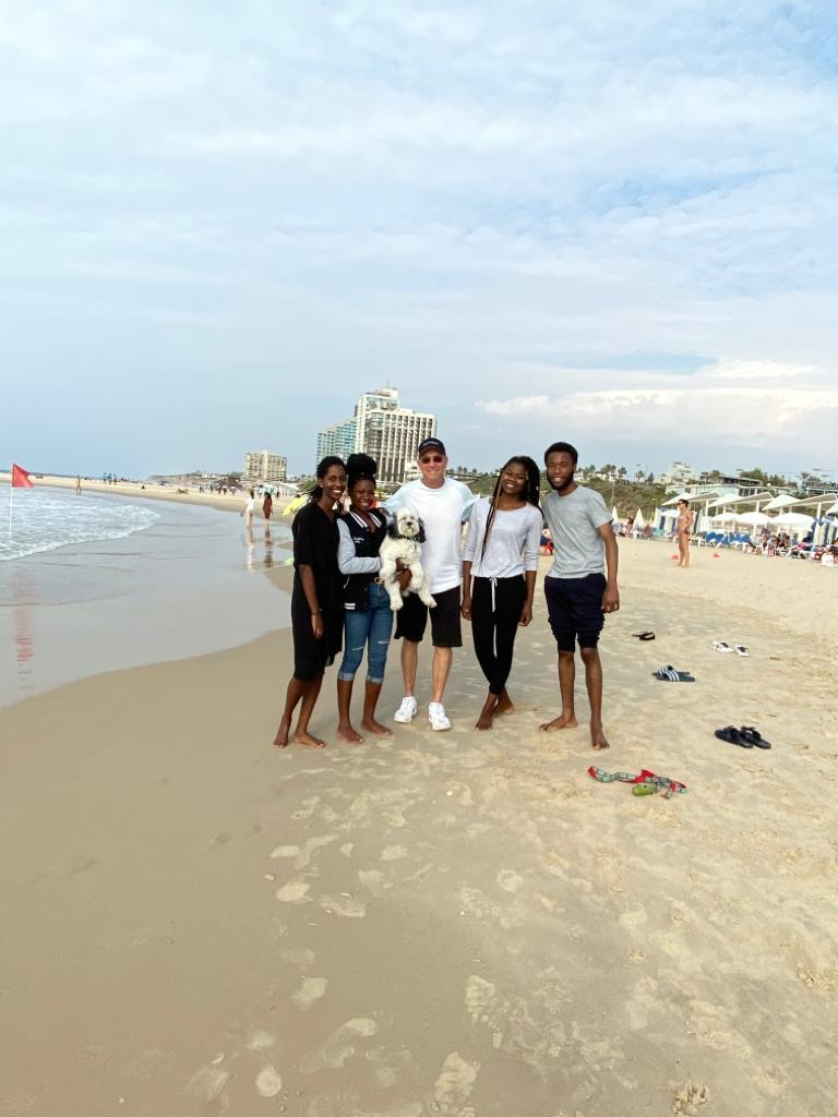 Students from Zambia & Rwanda