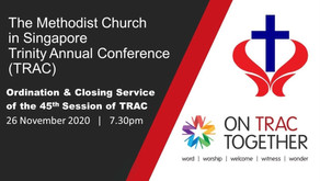 45th Session of TRAC Ordination & Closing Service