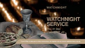 Watchnight Service Communion Elements Registration