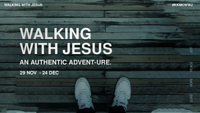 Walking With Jesus – An Authentic Advent-ure