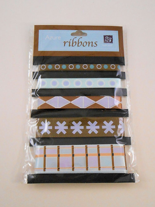 Prima Marketing Azure Ribbon pack 5 designs 510961