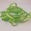 Thumbnail: 5 Yards Spring Lime Green Grosgrain Ribbon 3/8 inch wide embellishment