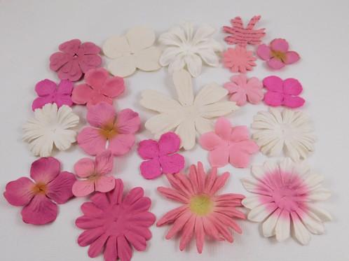 Prima paper flowers pink assortment no 368 got flowers supply prima paper flowers pink assortment no 368 got flowers daisy flower embellishment sampler scrapbooking supplies mightylinksfo