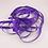 Thumbnail: 5 Yards Purple Grosgrain Ribbon 3/8 inch wide embellishment