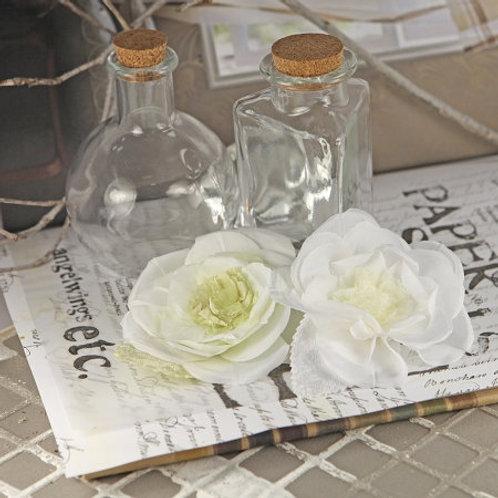 Prima Flowers Nicole Cream Pack 552343 SALE scrapbooking silk flowers White