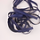Thumbnail: 5 Yards Navy Blue Grosgrain Ribbon 3/8 inch wide embellishment