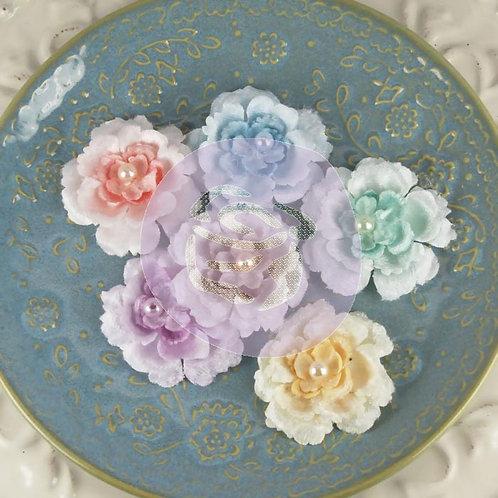 Prima Flowers Angelous- baglis Pack 542689 fabric velvety flowers
