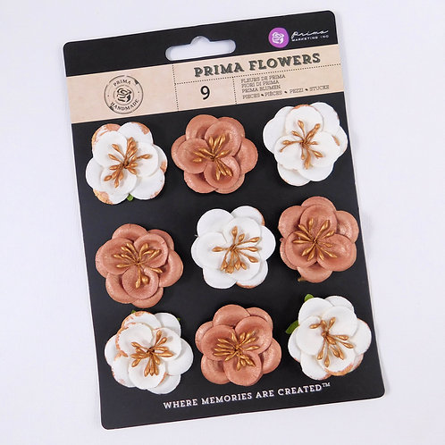 Prima Flowers Talia Tenacious Pack 574697 mulberry paper flowers