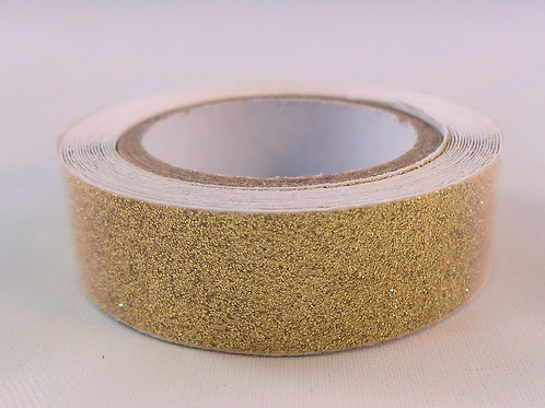 Washi Tape Roll 2.5 meters (2.73 yards) Glitter Gold Embellishment craft