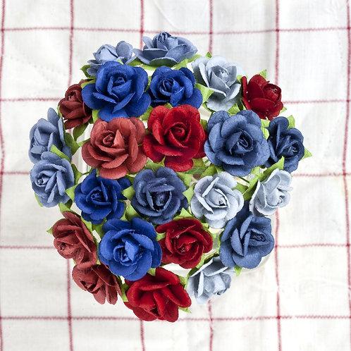 Prima Flowers Mini Prima Flowers Mini Sachet Liberty Paper Roses Stems 56695
