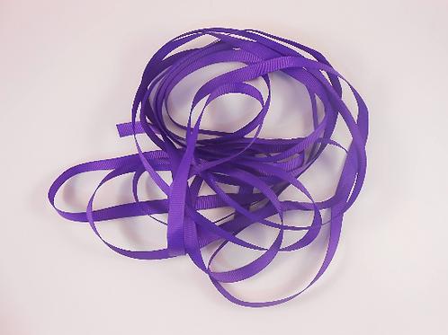 5 Yards Purple Grosgrain Ribbon 3/8 inch wide embellishment