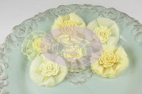 Prima Flowers Bronte Blooms Lemonade Pack 542894 fabric flowers