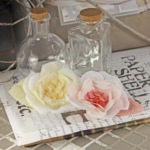 Prima Flowers Nicole Nectar Pack 552312 scrapbooking silk flowers Pink Ivory