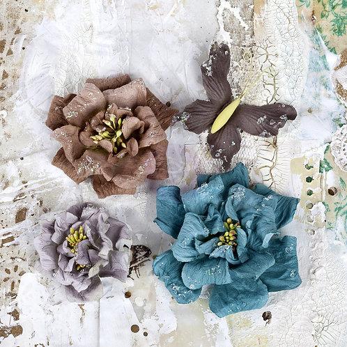 Prima Flowers Troika Urbana Flower Multi Colored 566906 Paper Butterfly
