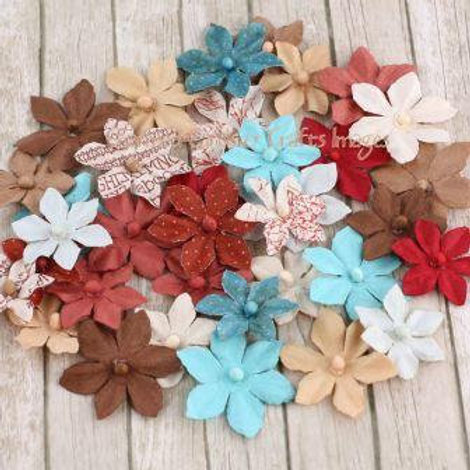 Prima Flowers Camille En Francais Pack 555986 mulberry paper flowers craft