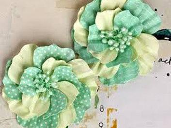 Ascot Park Snowcone Prima Paper Flower Embellishments 566272
