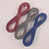 Thumbnail: 15 Yards total Grosgrain Ribbon 3/8 inch trim Wedgewood Blue, Rosey Mauve, Grey