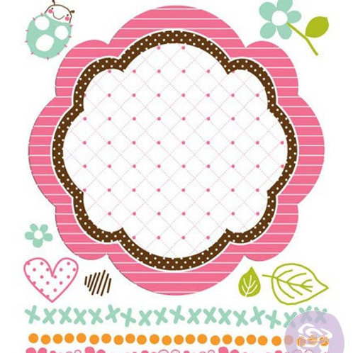 So Cute Clear Stamp from Prima Marketing 541996 sweet little stamps rhinestones