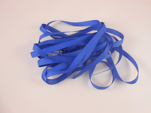 5 Yards Royal Blue Grosgrain Ribbon 3/8 inch wide trim scrapbooking