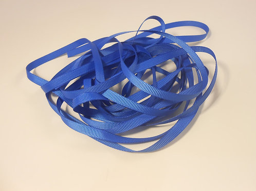 5 Yards Royal Blue Grosgrain Ribbon 1/4 inch wide trim embellishment scrapbookin