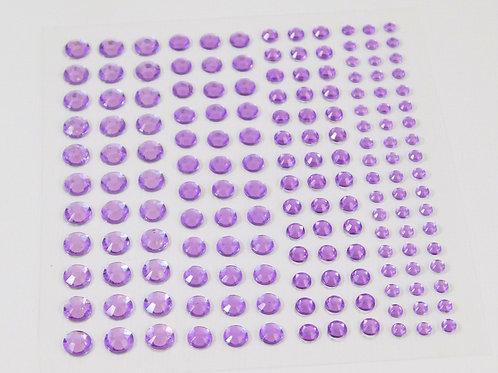 Light Purple Acrylic Flat back Rhinestones 3mm 4mm 5mm 6mm