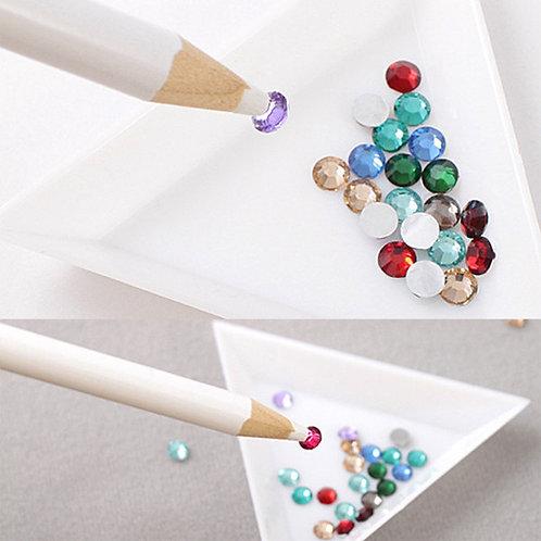 Gem Pearl pick up Pencil for Smaller Embellishments Rhinestones Pearls Die Cuts