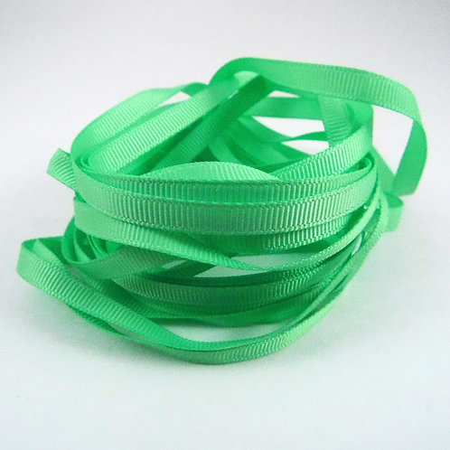 Mint Green Grosgrain Ribbon Embellishment 1/4 inch 5 yards scrapbooking crafts