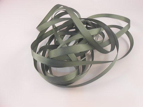 5 Yards Moss Green Grosgrain Ribbon 3/8 inch wide trim scrapbooking