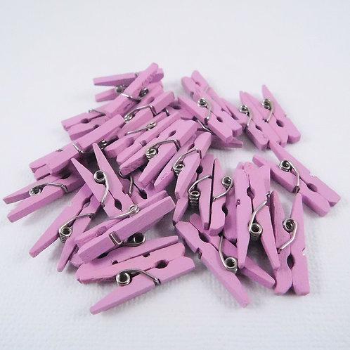 Darice Clothespin Embellishments Lavender 30029496 3d mini clothespins