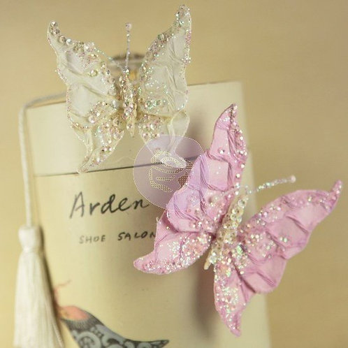 Prima Butterfly Kiss Sparkling Multi Colored 549480 Mulberry Paper Pink Ivory