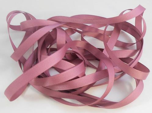 5 Yards Rosey Mauve Grosgrain Ribbon 3/8 inch wide embellishment
